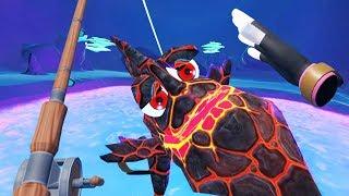 Massive Legendary Lava Fish! - Crazy Fishing Gameplay - VR HTC Vive Pro