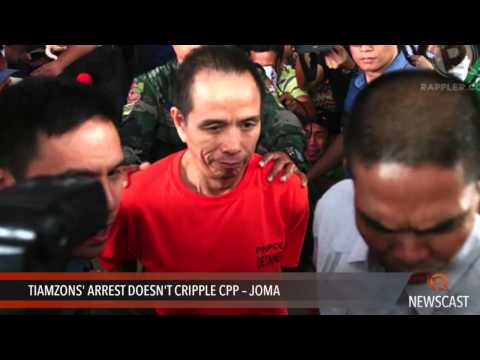 Tiamzons' arrest doesn't cripple CPP -- Joma