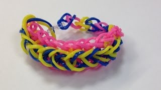 Bandaloom: How To Make A Raindrop Bracelet