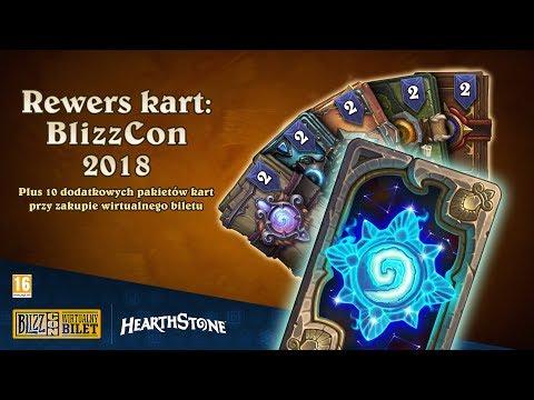 Wirtualny bilet na BlizzCon® 2018: nagrody w Hearthstone