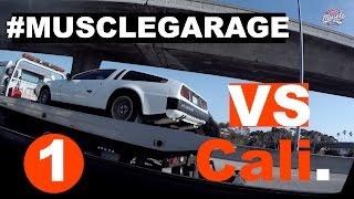 Muscle Garage vs California ep.1 (Страх и ненависть в Лас-Вегасе). Музей ретро автомобилей СПБ.