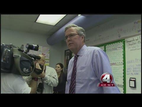 Jeb Bush speaks about presidential run