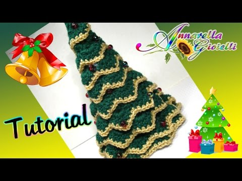 Tutorial Albero di Natale all'uncinetto SENZA punto coccodrillo | How to crochet a Christmas Tree