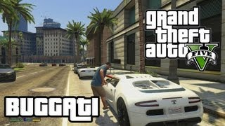 GTA 5 HOW TO GET THE BUGATTI (Truffade Adder Location
