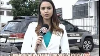 Ladr�o que furtou a TV Alterosa est� detido em Divin�polis