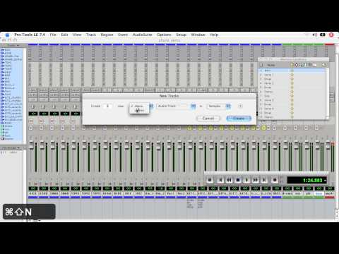 Pro Tools LE - 04 Mixing: 19 Stems and submix groups