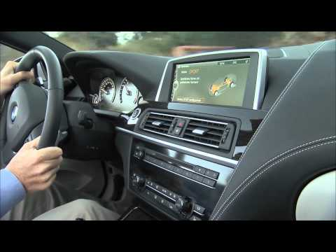 2012 BMW 650i Convertible Driving Scenes