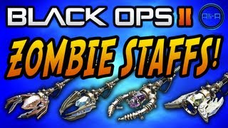 """Black Ops 2 """"ORIGINS"""" Zombies - New STAFFS, Weapons & Info! - (Call of Duty BO2)"""