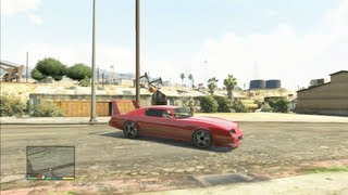 GTA V : Car Customization (Dodge Charger Daytona 1969