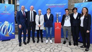 Trophy Tour, la Coppa del Mondo a Coverciano