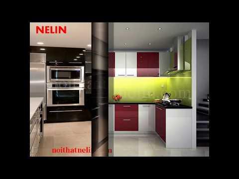Các Mẫu Tủ Bếp Acrylic Đẹp - Sang