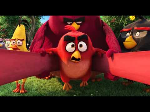 Angry Birds film - Neobčianska vojna - trailer na rozprávku