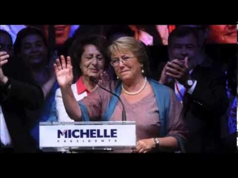 Michelle Bachelet Wins Chilean Presidential Elections