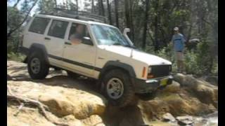 Jeep XJ Cherokee 4.0 At Appin, 2007