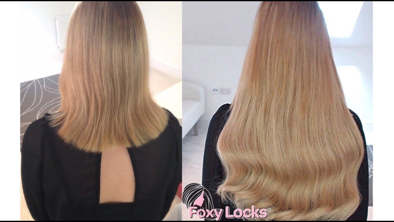 Youtube Clip In Hair Extensions For Short Hair 76