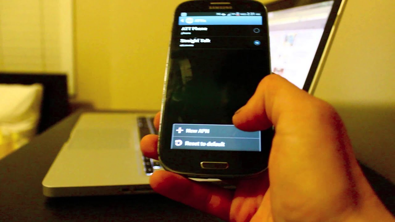 how to change mms settings samsung