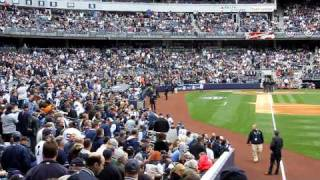 Yankees Opening Day 2010 - Yankees Take The Field