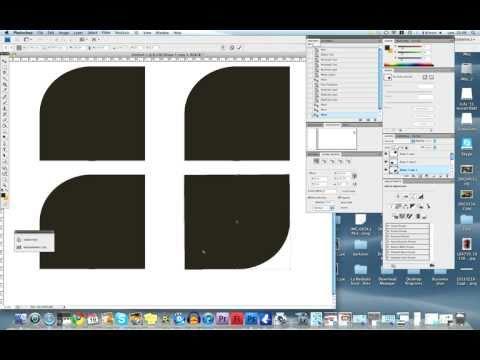 Photoshop Tutorial: How To Make Round Edges