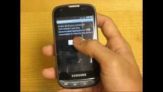 How To Erase / Reset Samsung Transform Ultra M930 Personal