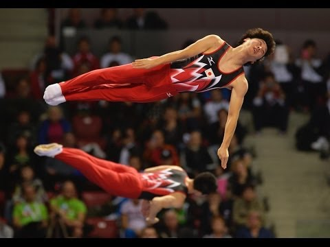 2013 Trampoline Worlds - SOFIA, BUL - Women's & Men's Synchronised TRA Finals - We are Gymnastics!
