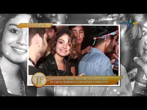 TV Fama: Malvino, sobre Charlotte, 'Terminamos sem briga'
