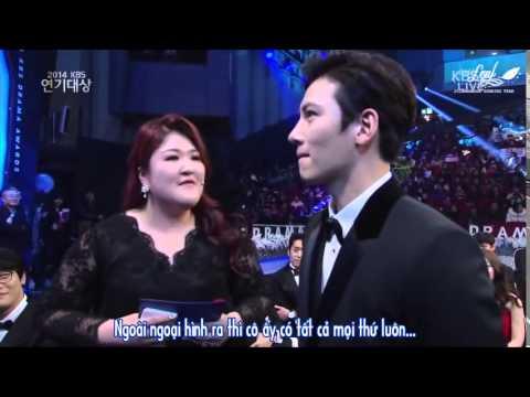 [Vietsub][LastLeaf Subbing Team] KBS Drama Award 2014- 지창욱 Ji Chang Wook  full cut