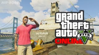 GTA 5: Easter Egg Niko Bellic's Cargo Ship From GTA 4