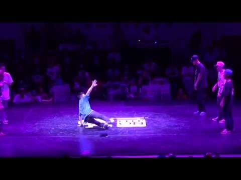 KOREA (Bboy Born, Naughty One, Fhiz) vs CHINA (Tommy, Lil Chao, Harry) KOD7 BBOY BATTLEHD