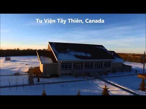 Tu Viện Tây Thiên, Canada.  Mùa đông năm 2015