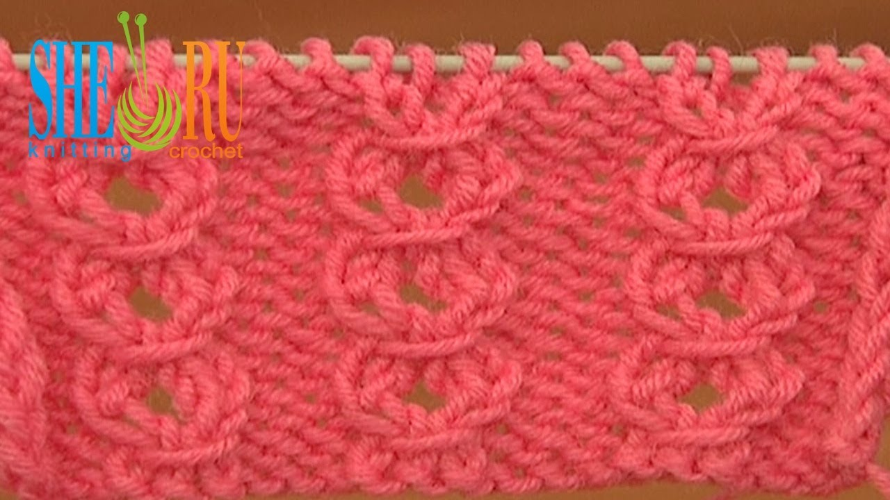 Knitting Yarn Over First Stitch : Free Knit Stitch Pattern Tutorial 21 Easy to Knit Stitches for Beginners - Yo...