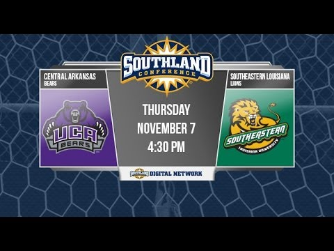 Women's Soccer: Central Arkansas vs. Southeastern Louisiana (SLC Match 1)