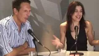 """Joaquín Prat y Raquel Sánchez Silva: """"Hay que aguantar mucha presión al hacer un directo"""""""