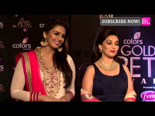 Colors Golden Petal Awards | Madhuri Dixit & Huma Qureshi