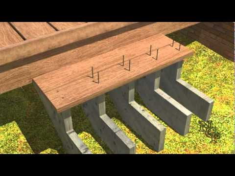 6 composite deck building stair installtion youtube for Building a composite deck