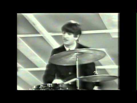 "The Beatles on the Ed Sullivan Show, 9th February 1964, performing ""I Want To Hold Your Hand"""