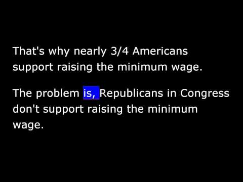 President Obama April 26th, 2014 -  Weekly Address -Congress Needs to Act on Minimum Wage