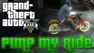 GTA V Pimp My Ride #4 Western Bagger (Motorcycle