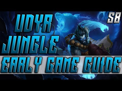 League of Legends Udyr Build S8 | Udyr Build Guide - Udyr Jungle Build Patch 8.20: Udyr Runes S8