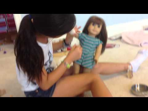 How to make a leg or arm American Girl Doll Cast