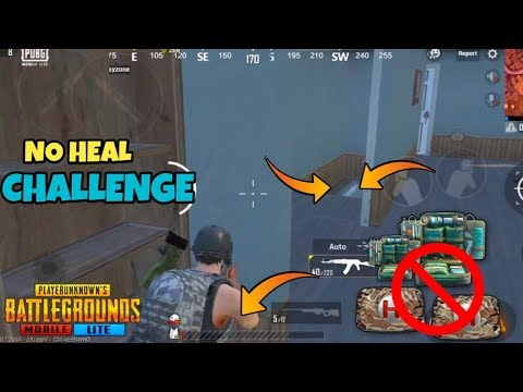PUBG MOBILE LITE  *NO HEAL* Challenge || No Healing  || FUNNY MOMENTS