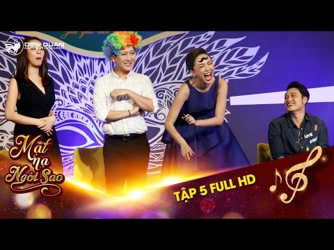 Mặt nạ ngôi sao | Tập 5 full hd: Tóc Tiên hả hê vì Trường Giang, Quang Vinh bị phạt và cái kết đắng