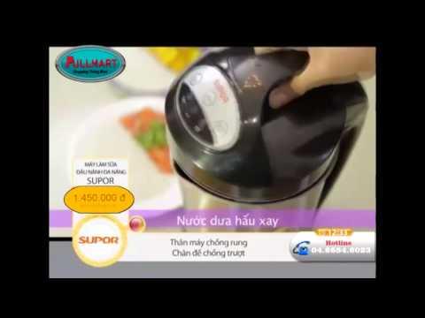 Hướng dẫn sử dụng máy làm sữa đậu nành supor - LH 0969 479 373