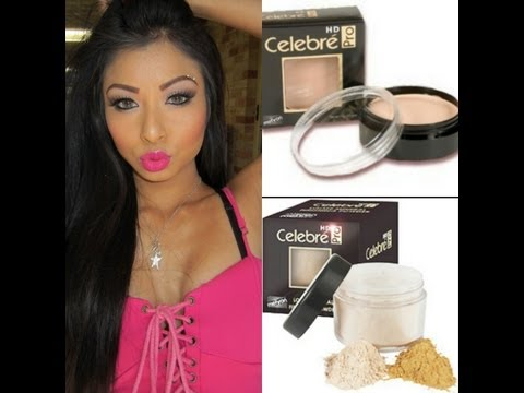 Mehron Celebre HD Pro Cream and Loose Min