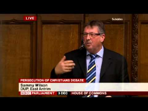 Persecution of Christians - Sammy Wilson