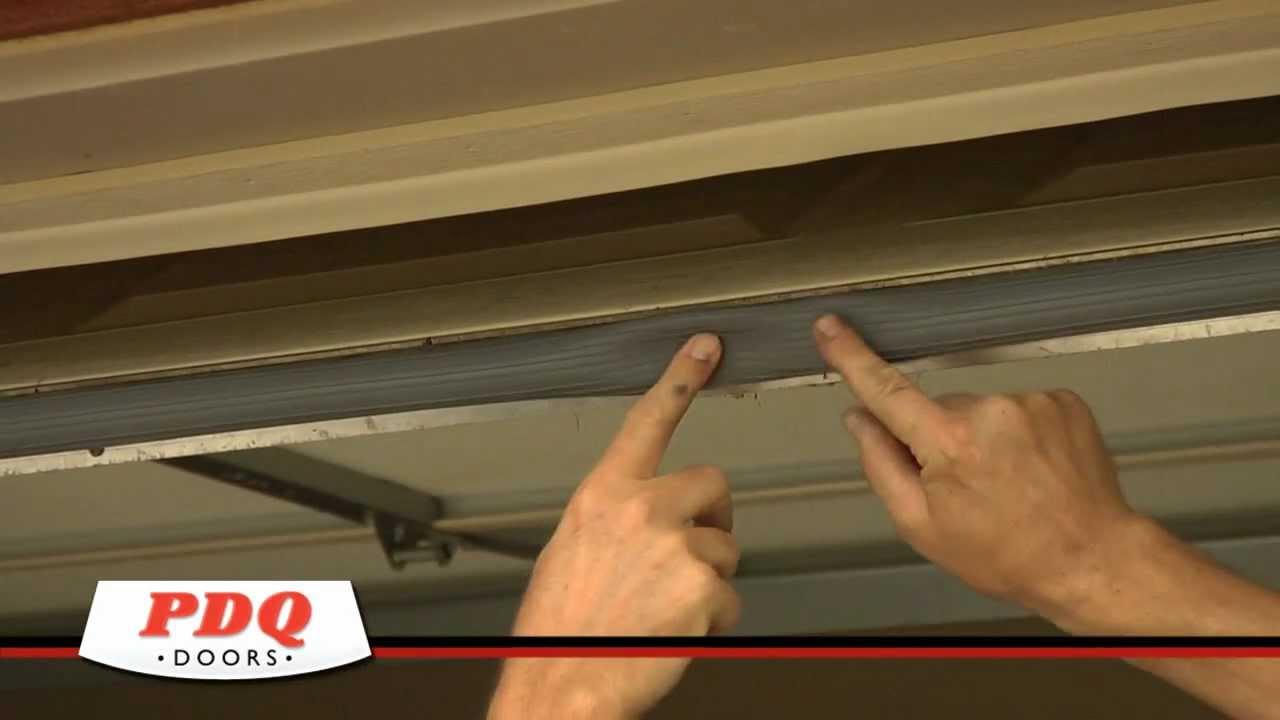 Garage door not sealing garage door weather seal options for Garage doors cincinnati oh