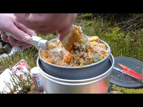 Kochen im Wald | Trangia 25-7 | Manfred Der Waldläufer | Outdoor Cooking Deutsch