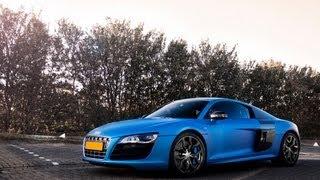 Modified: Audi R8 V10 w/ Akrapovic (DJ Afrojack) & BMW M5 w/ Eisenmann! Great noise! videos