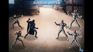 Batalla Heroica ULTRONES Avispa Pantera Negra, Viuda Y