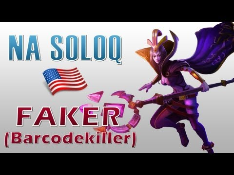 Hình ảnh trong video SKT T1 Faker (Barcodekiller) - LeBlanc vs Ahri