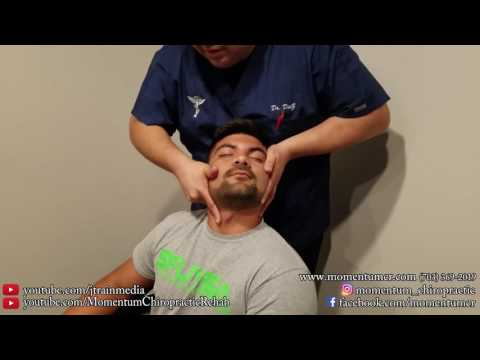 JUST ADJUSTMENTS - Chiropractic Adjustment on a Miami Soccer Player